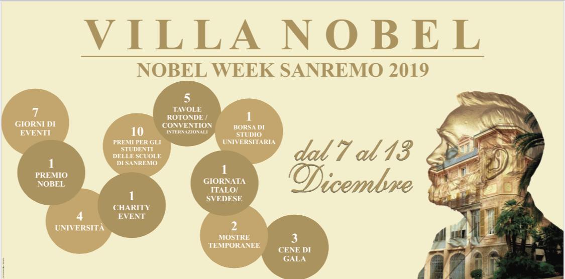 Nobel Week Sanremo 2019